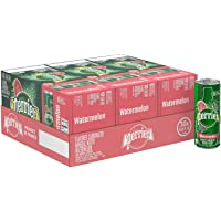 30-Count Perrier Watermelon Flavored Carbonated Mineral Water Slim Cans