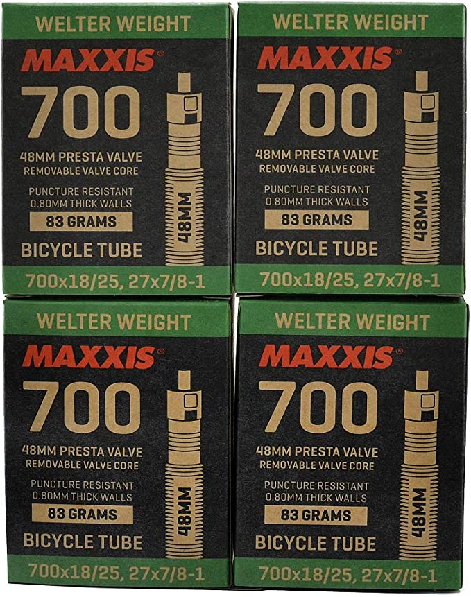 1 to 6 tubes Maxxis Welter Weight 29 x 1.90-2.35 Presta Inner Tube 0.8mm thick
