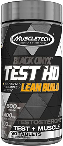 MuscleTech Test HD Lean Build Black Onyx