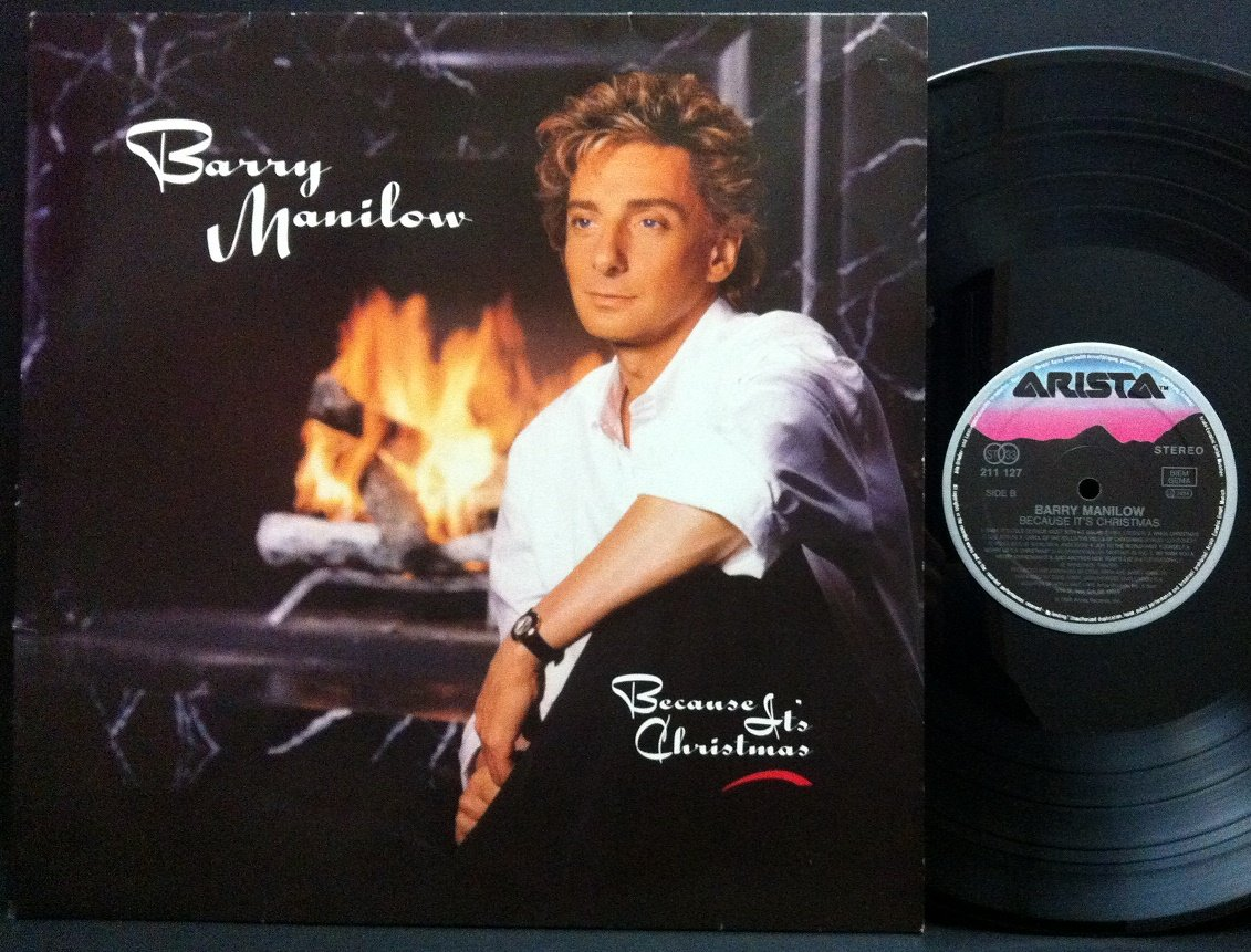 Barry Manilow - Because It\'s Christmas - Arista - 211 127 - Amazon ...