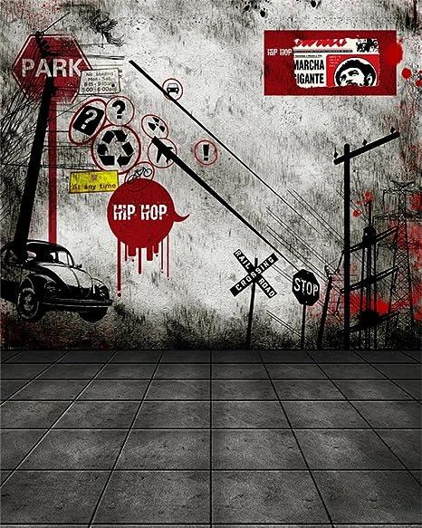 Amazon Com Aofoto 8x10ft Grunge Music Photography Background