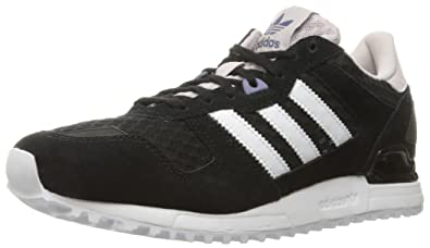 separation shoes 8d452 7cf7b adidas Originals Women s zx 700 w Fashion Sneaker, Black White Ice Purple  F16