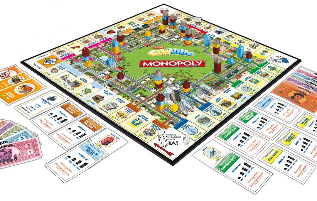 Amazon.com: Hasbro Monopoly Cityville Board Game (en ...