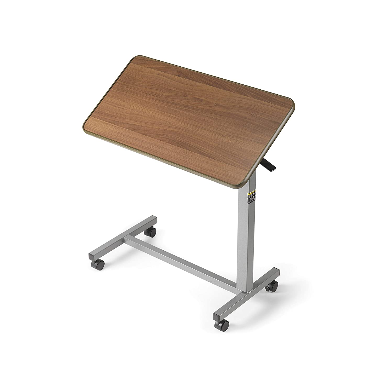 Invacare Overbed Table, with Tilt Top, Height Adjustable