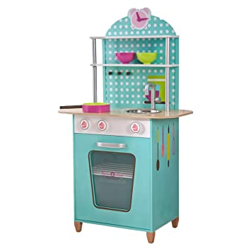 Pink Papaya Kinder Spielküche Aus Holz Spielzeug Küche Für Jungen