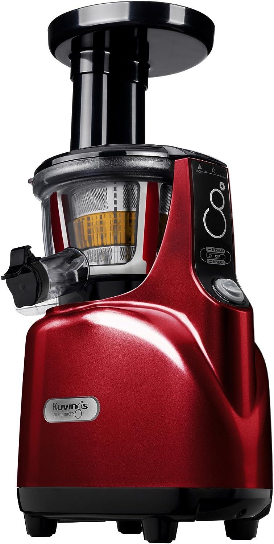 Kuvings BPA-Free Silent Juicer SC Series With Detachable Smart Cap, Burgundy Pearl