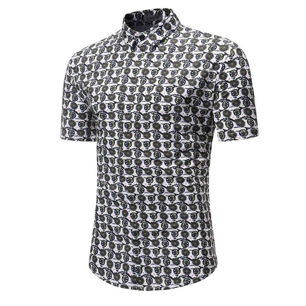 QingJiu 2019 - Camiseta de Manga Corta para Hombre XL: Amazon.es ...