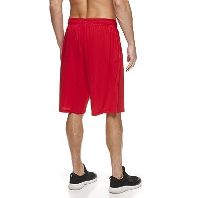 Reebok Mens Mesh Basketball Gym /& Running Shorts w//Elastic Drawstring Waistband /& Pockets Point Guard Sleet Large
