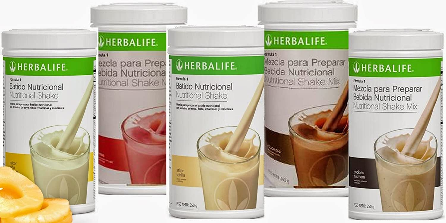 Amazon.com : Herbalife Formula 1 Shake 550g Pina Colada : Everything Else