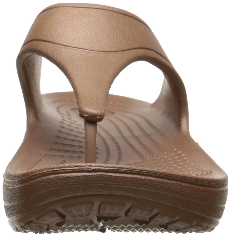 Crocs Sloane Damen Platform, Damen Sloane Sandalen Gold (Bronze) 916fb1