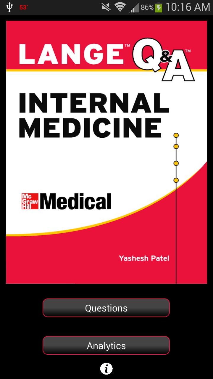 Internal Medicine LANGE Q&A