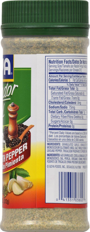 Amazon.com: Goya Foods Sazonador Total with Pepper, 11 Ounce: Prime Pantry