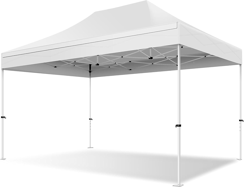 Sité Pavillon Tente Pliante 3x3m Tente 4 Parois Latérales UV 30 Étanche 9920