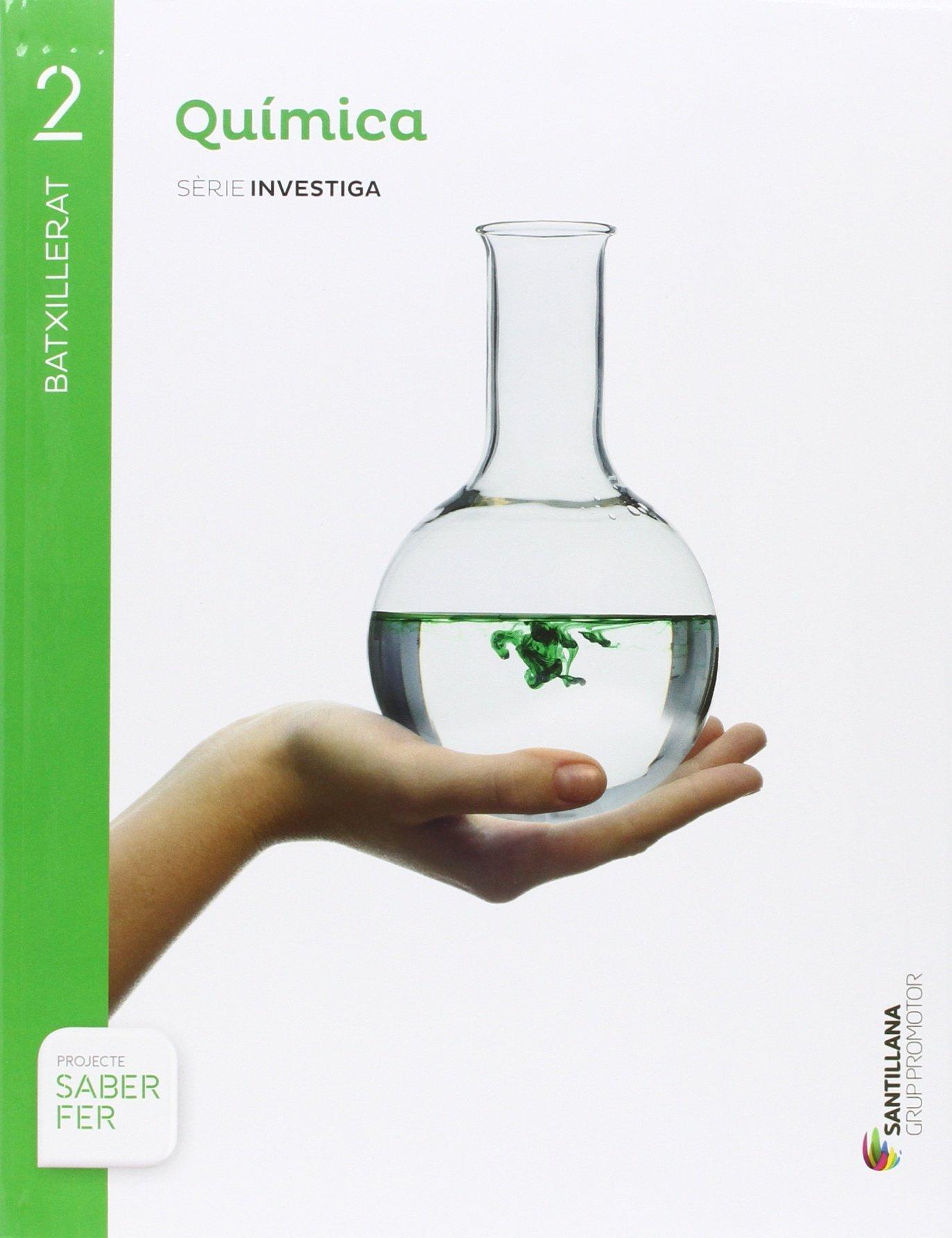 QUÍMICA SERIE INVESTIGA 2 BTX SABER FER - 9788491302810: Amazon.es: Aa.Vv.: Libros