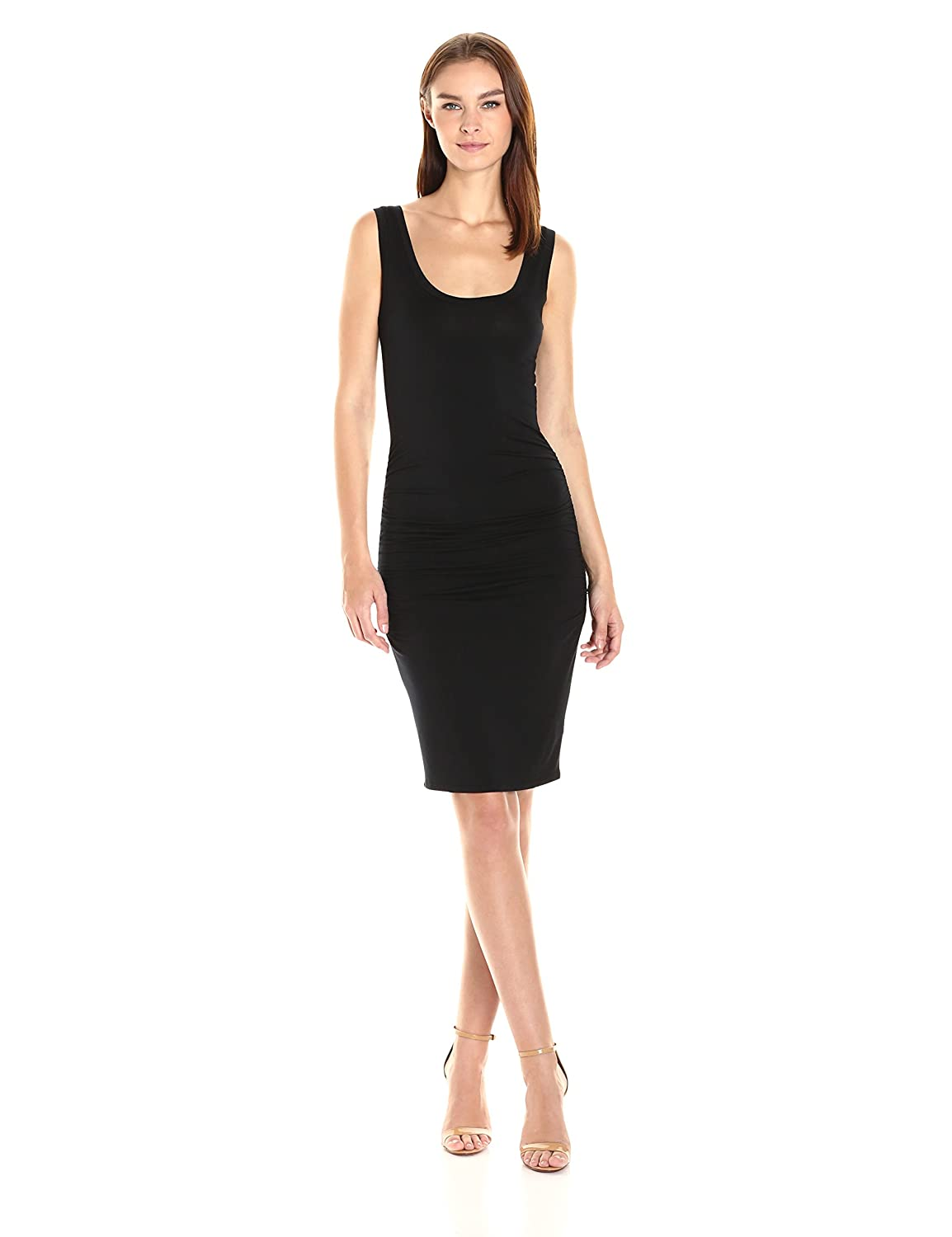 95a49df322 LAmade Women's Sleeveless Ruched Above The Knee Dress at Amazon Women's  Clothing store: