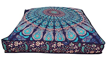 Amazon.com: Indian Hippie Bohemia Tapestry, cama, almohada ...
