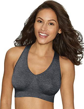 cd9a2714c32 Hanes Women s Cozy Pullover Fit Wirefree Bra at Amazon Women s Clothing  store