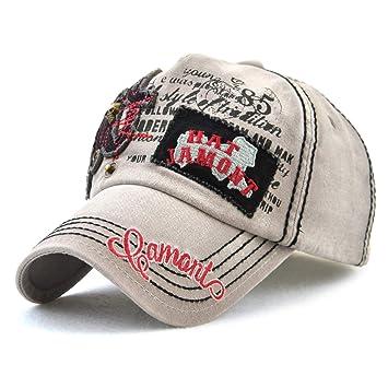 2019 Sombrero Femenino Gorras de béisbol de algodón universales ...