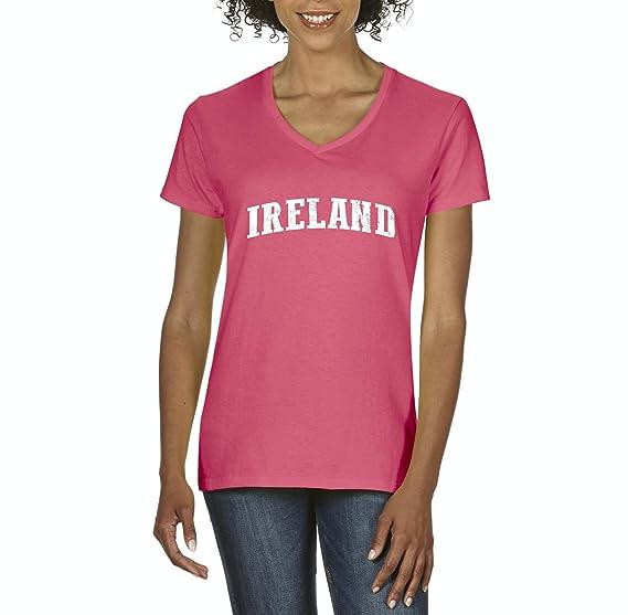 Ugo What To Do in Ireland Travel Guide Deals Dublin Belfast Map Irish Flag Womens V
