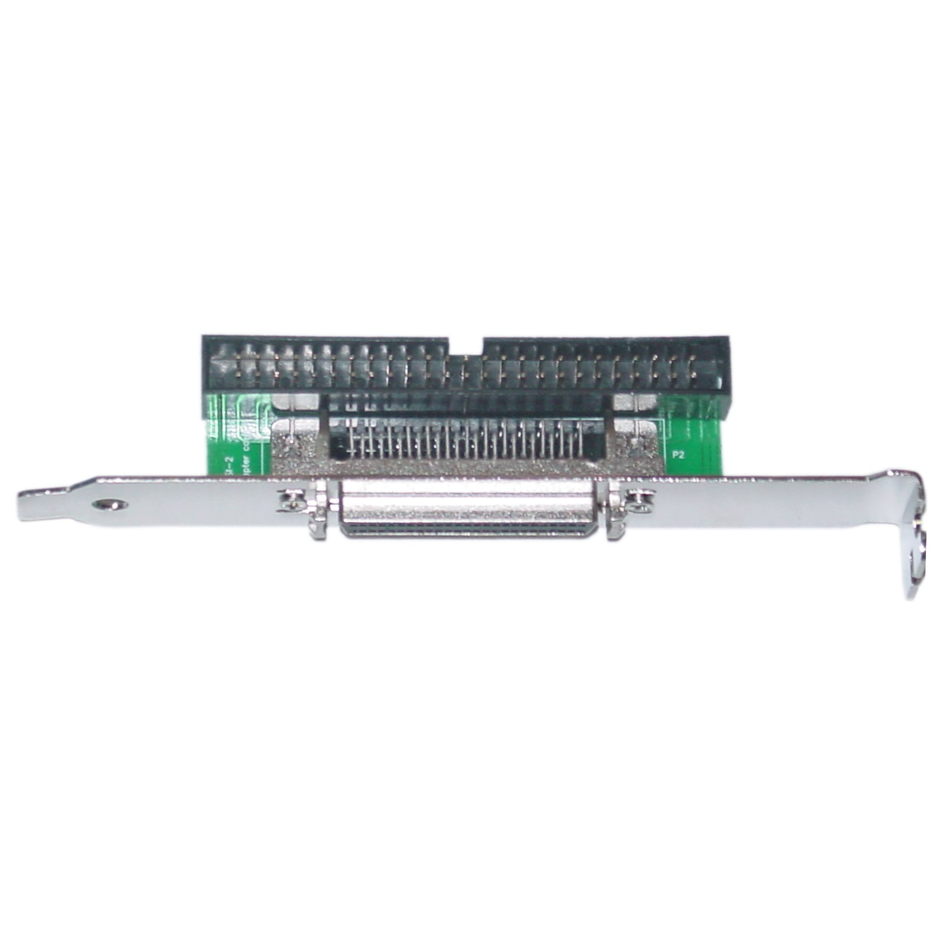 CableWholesale SCSI Computer Slot Adapter, Internal IDC 50 Male to External HPDB50 (Half Pitch DB50) Female by CableWholesale