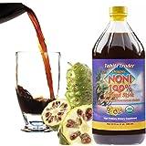 TAHITI TRADER Organic Noni 100% Island Style Juice 32oz (1 Pack) - Noni Juice Organic Pure - Organic Noni Juice Tahiti…