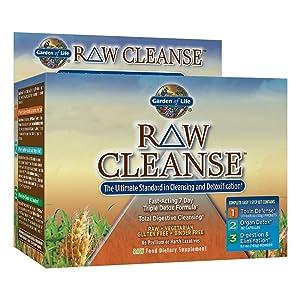 Garden of Life Vegetarian Triple Detox Pills - Raw Cleanse Kit