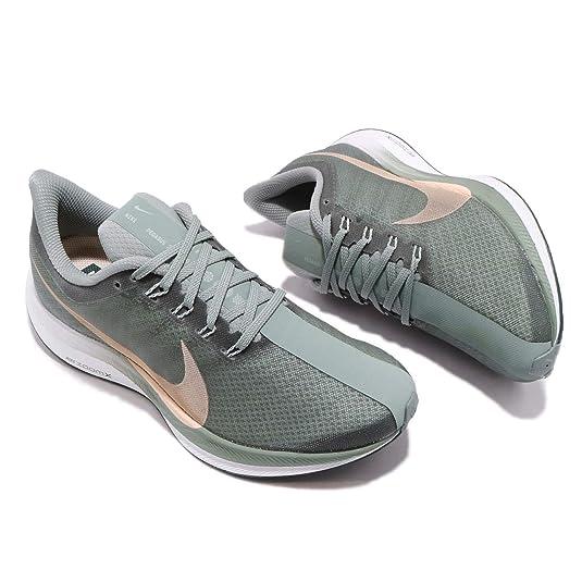 Amazon.com | Nike Zoom Pegasus 35 Turbo Mica Green Womens AJ4115-300 US Women Size 6 | Road Running