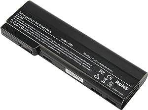 ARyee Laptop Battery HP ProBook 6360b 6460b 6560b 6570b EliteBook 8470p 8470w 8560p 8570p, fit HSTNN-F08C HSTNN-I90C HSTNN-LB2F HSTNN-LB2H HSTNN-W81C QK642AA 628666-001 628668-001 628670-001