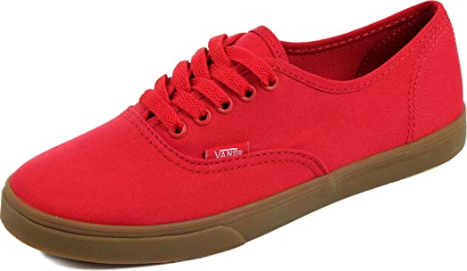 Unisex Authentic Lo Profile Shoes in (Gumsole) Barbados Cherry
