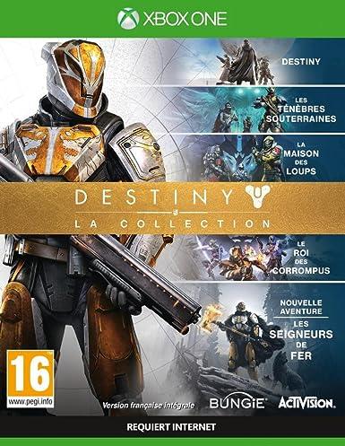 Activision Destiny: The Collection, Xbox One Básico Xbox One Inglés, Francés vídeo - Juego (Xbox One, Xbox One, Shooter, Modo multijugador, T (Teen)): Amazon.es: Videojuegos