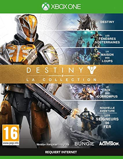 Activision Destiny: The Collection, Xbox One Básico Xbox One Inglés, Francés vídeo - Juego (Xbox One, Xbox One, Shooter, Modo multijugador, T (Teen)): Amazon.es: Videojuegos