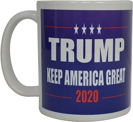 4 Pack 2020 Red Ceramic Coffee Mug MAGA Cup Trump Pence Keep America Great