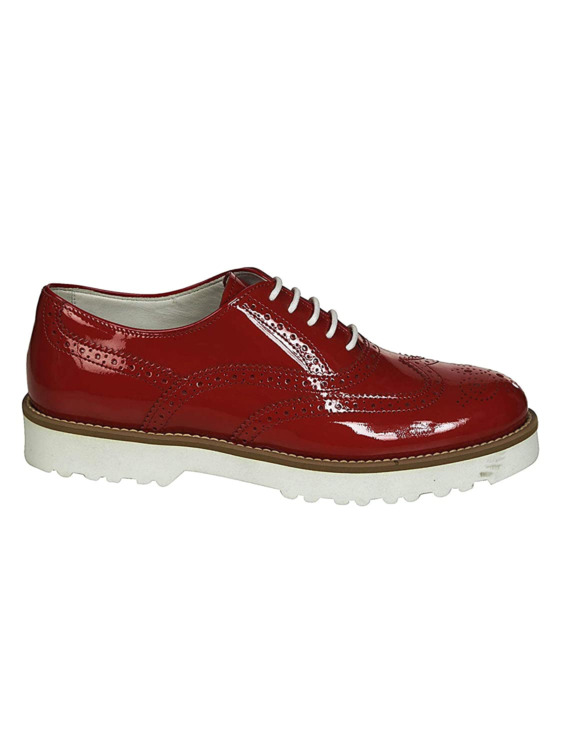 Hogan Femme HXW2590R3200W0R001 Rouge Cuir 3037 Chaussures Cuir À HXW2590R3200W0R001 Lacets - 4a9c8c5 - automatisms.space