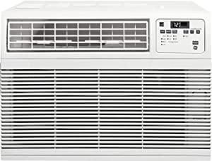 """GE AHM12AY 21"""" Energy Star Qualified Window Air Conditioner with 12000 BTU Cooling Capacity in White"""