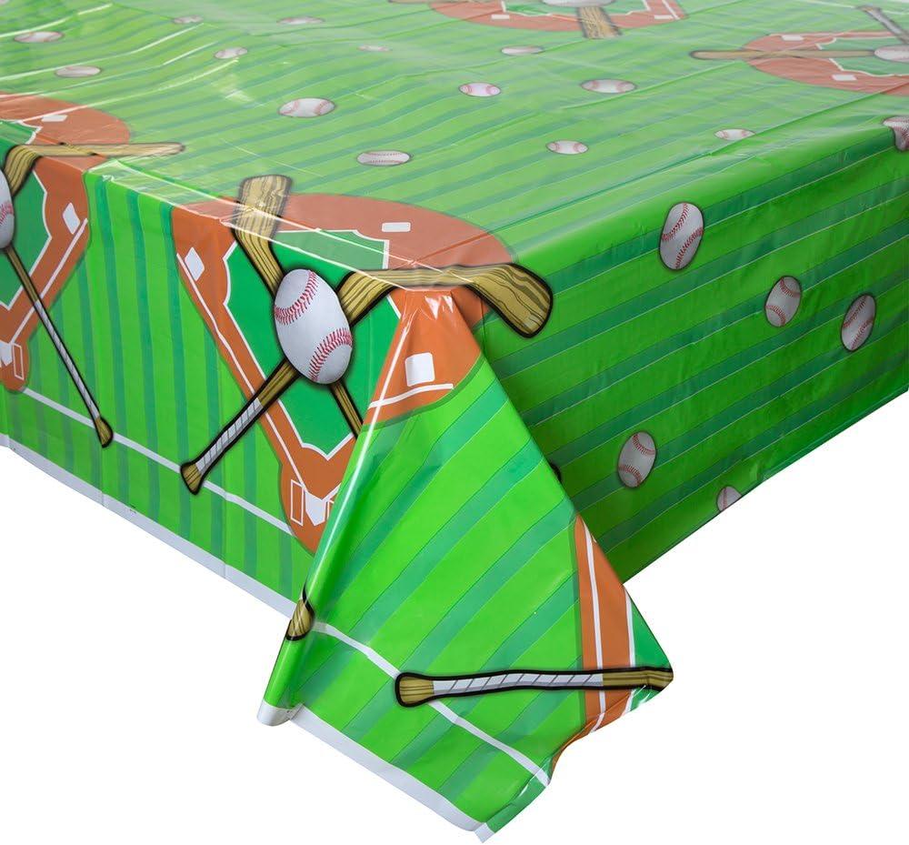 Baseball Plastic Tablecloth 54