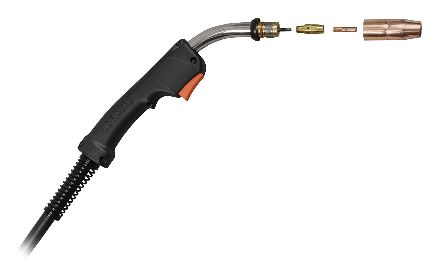 Hobart 239173 Replacement Gun for Ironman 230 Wire Welder - Multi ...