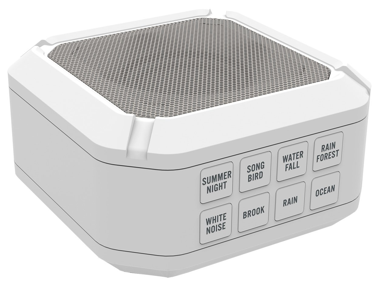 Big Red Rooster BRRC112 Portable Sound Machine - 8 Sounds - White Noise Machine - Operates On 3 AA Batteries