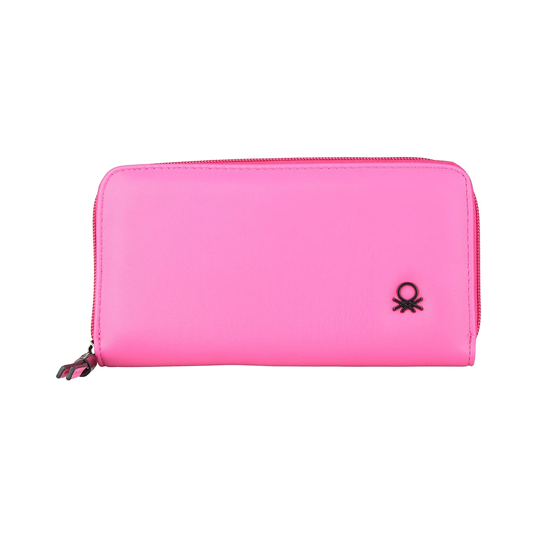 BENETTON cartera mujer 11A73724 rosa - mujer - TU: Amazon.es ...