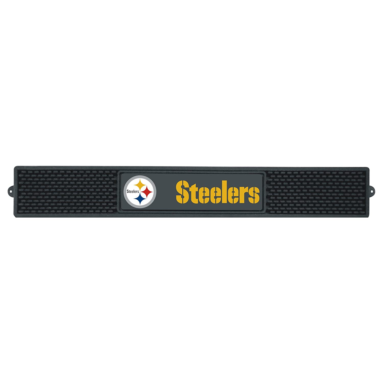 NFL Pittsburgh Steelers 3 - DビニールDrinkマットテールゲートアクセサリー   B07F1W6DF9
