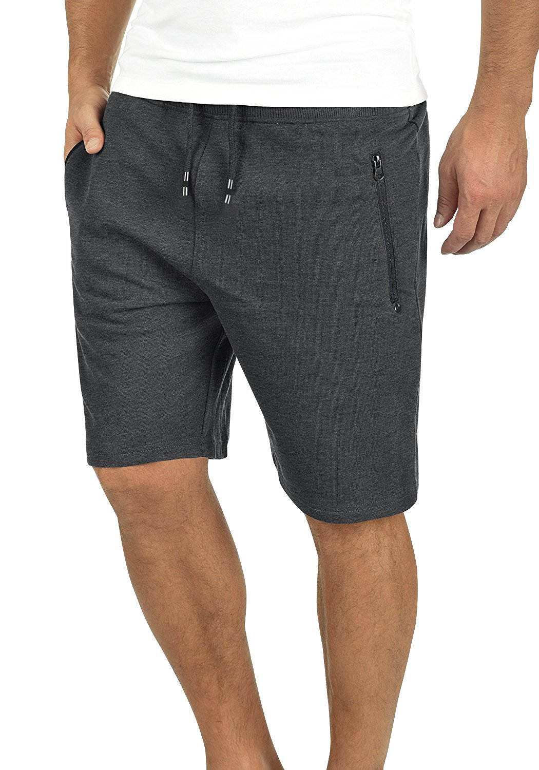 Yidarton Men's Sports Shorts Casual Fit Elastic Jogger Gym Short with Pockets(DGA,m)