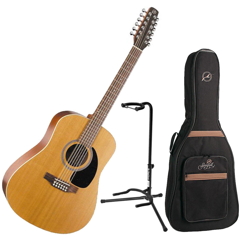 seagull coastline s12 cedar 12 string acoustic w