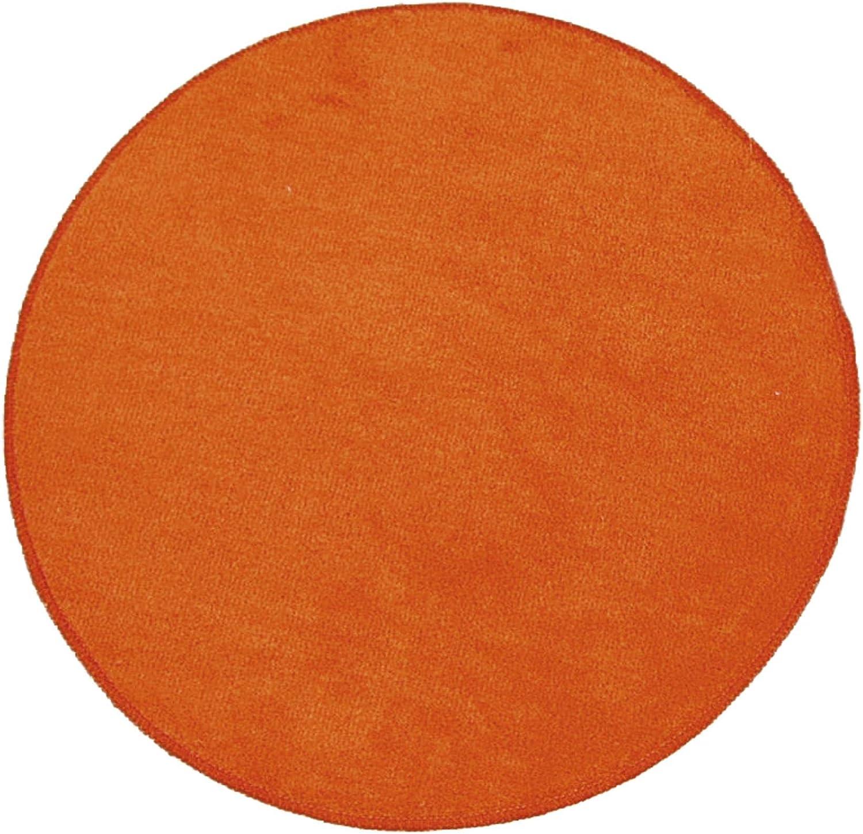 RIDDER Teppich Round orange /Ø 60 cm