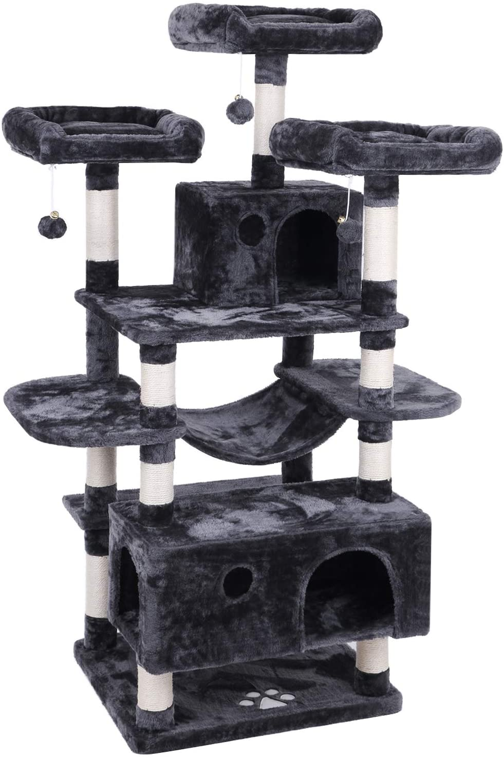 8. BEWISHOME MMJ03 Large Cat Tree Condo