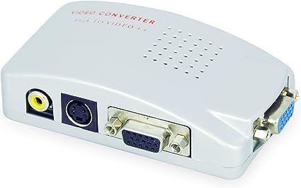LEICKE KanaaN - PC VGA para TV Composite Video RGB | Convertidor ...