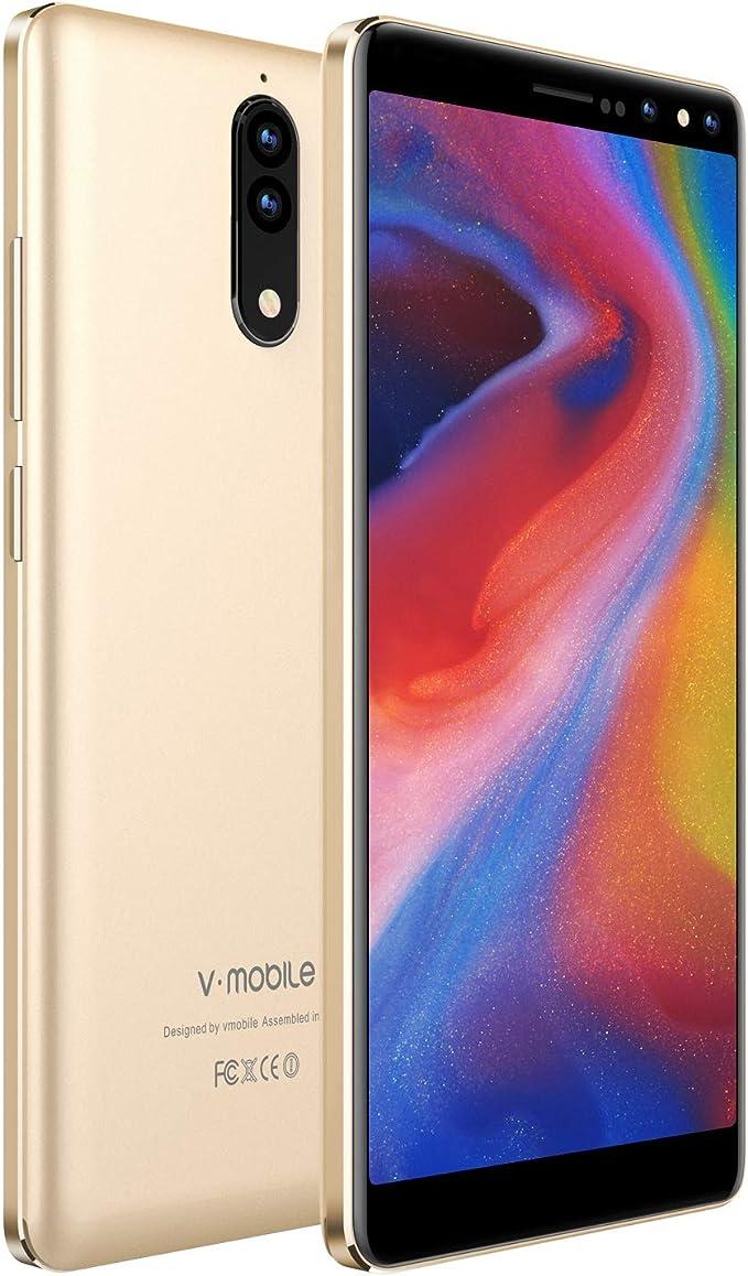 v mobile N8-N Smartphones Unlocked 4G, Teléfonos móviles Versión ...