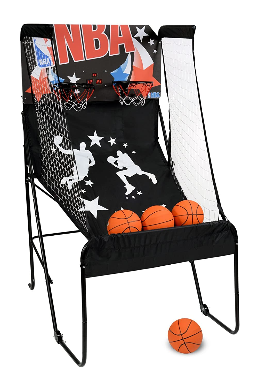 NBA 4762 Panier de Basketball Garçon, Noir NBAB1|#NBA 209836