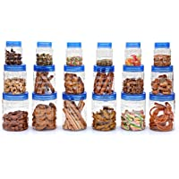 Cello Checkers PET Plastic Canister Set Jumbo