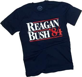 NuBlu Sportswear, Classic Reagan-Bush '84 Election, Adult T-Shirt