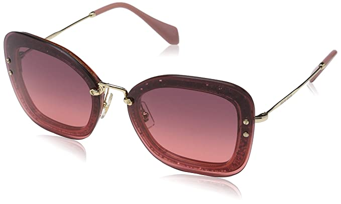 Pink De SolRosatransperent 0mu02ts Gafas Iykpz0 Mujer Miu 65 K1cJTFl3