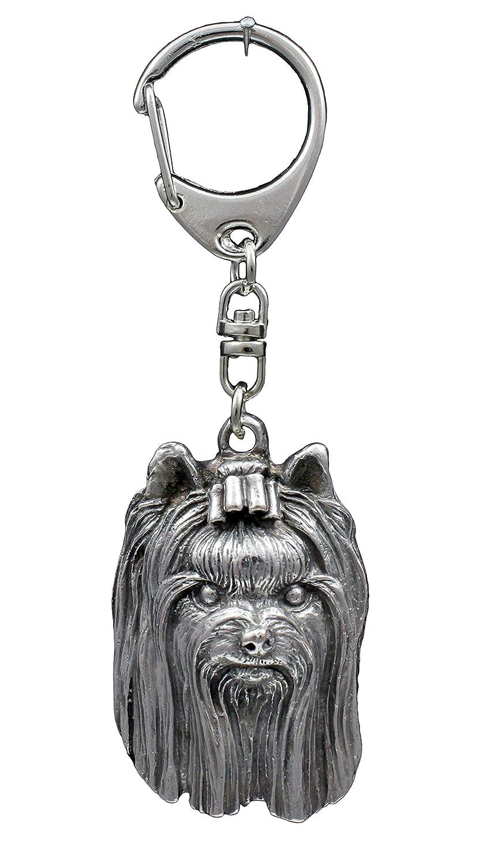 Yorkshire Terrier, llavero del perro, ArtDog: Amazon.es: Hogar
